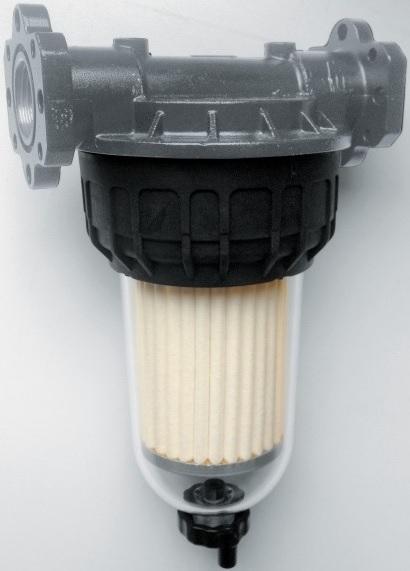 DOORSCHIJNENDE VUILFILTER - CLEAR CAPTOR WATER FILTER